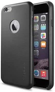 SPIGEN Leather Fit  iPhone 6/6s, black (SGP11354)
