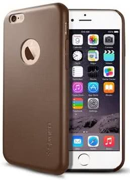 SPIGEN Leather Fit iPhone 6/6s, olive brown (SGP11356)