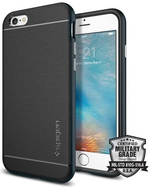 SPIGEN Neo Hybrid Apple iPhone 6 / 6S, metal slate (SGP11619)