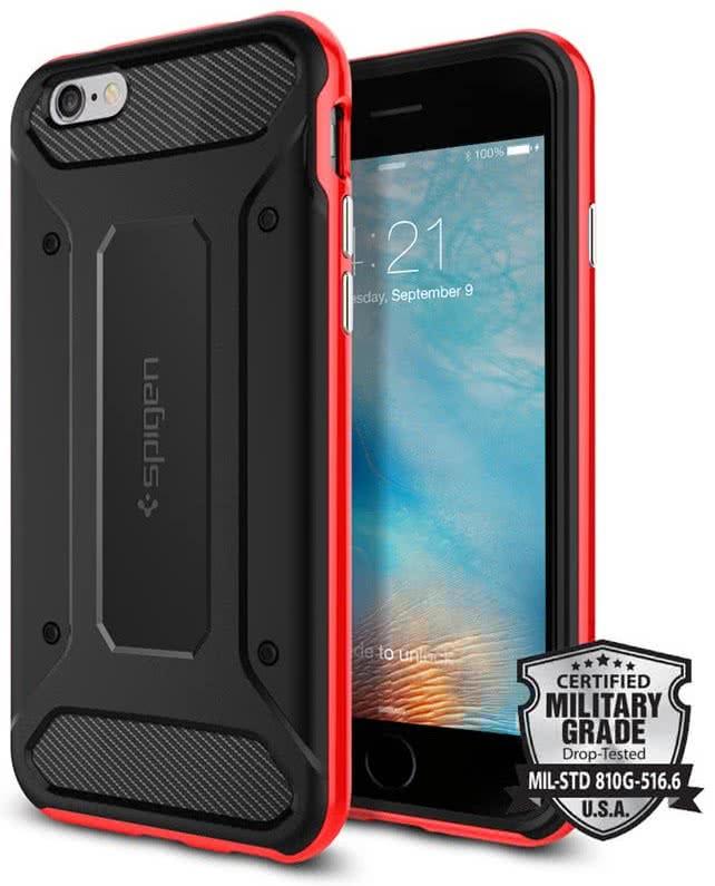 SPIGEN Neo Hybrid Carbon Apple iPhone 6 / 6S, dante red (SGP11623)