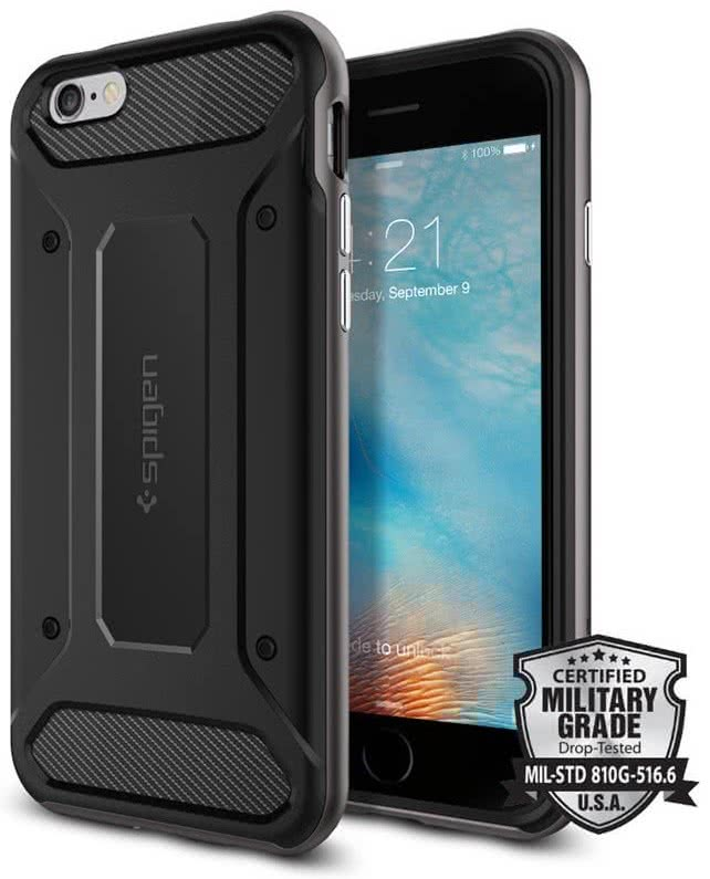 SPIGEN Neo Hybrid Carbon Apple iPhone 6 / 6S, gunmetal (SGP11621)