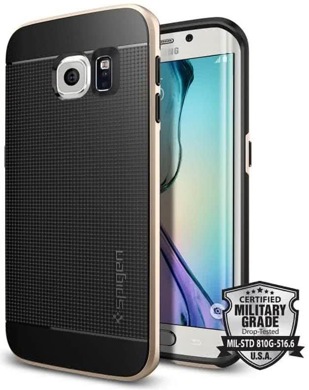 SPIGEN Neo Hybrid Samsung Galaxy S6 edge, champagne gold (SGP11421)