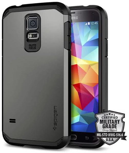 SPIGEN Tough Armor - Samsung Galaxy S5 / Gunmental  (SGP10762)